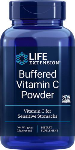 Life Extension Buffered Vitamine C poeder 454 gram poeder