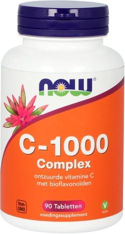 NOW Foods C-1000 Complex Gebufferde Vitamine C met Bioflavonoiden 90 tabletten