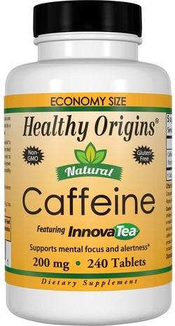 Healthy Origins Natural Caffeine InnovaTea 240 tabletten