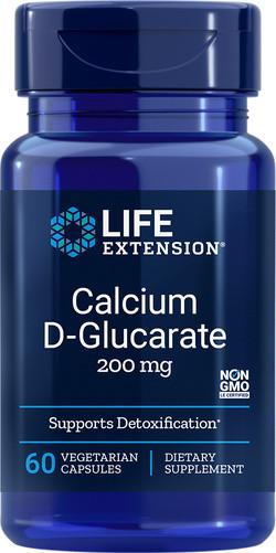 Life Extension Calcium D-glucarate 60 capsules