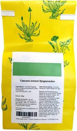 Cascara schors fijn gesneden 250 gram
