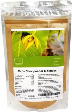 Cat's Claw Poeder biologisch 125 gram