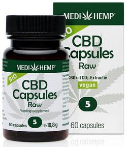 Medihemp CBD Caps 5% (27 mg) 60 capsules