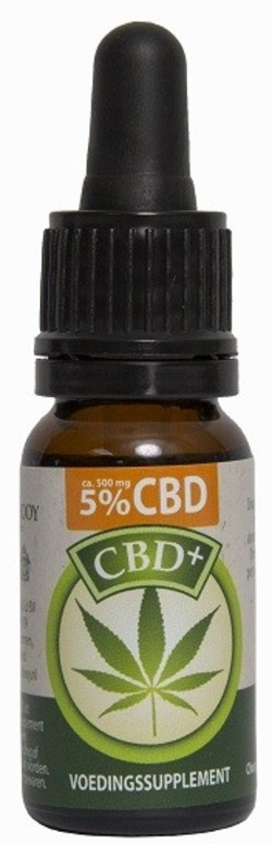 Jacob Hooy CBD olie 5%