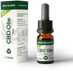 Medihemp CBD Olie RAW 10%
