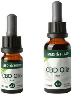 Medihemp CBD Olie CO2 2.5% (0.9 mg)