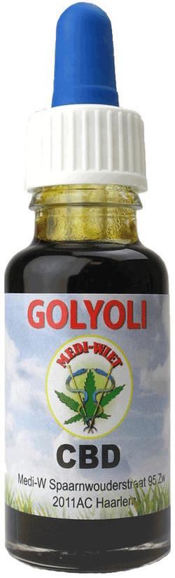 Medi-Wiet CBD olie Golyoli GRATIS VERZENDING