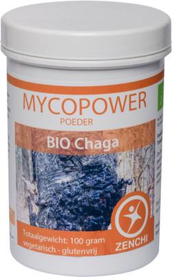 Mycopower Chaga poeder 100 gram biologisch