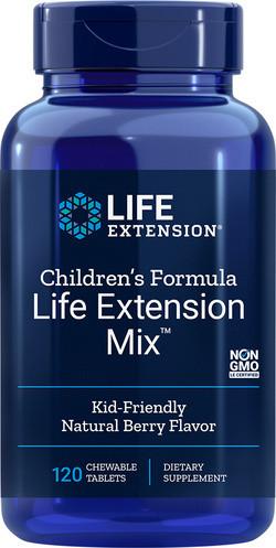 Life Extension Children's Formula Life Extension Mix 120 tabletten