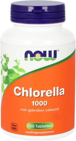 NOW Foods Chlorella 1000 mg 120 tabletten