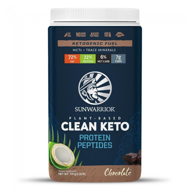 Sunwarrior Clean Keto Protein Peptides Chocolate Sunwarrior