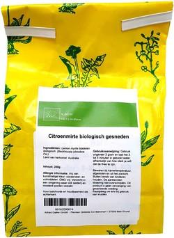 Citroenmirte biologisch gesneden