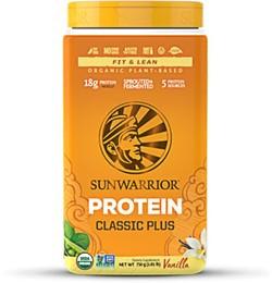 Classic Plus Biologische Proteïne Vanille Sunwarrior
