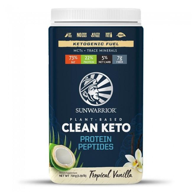 Sunwarrior Clean Keto Protein Peptides Vanilla Sunwarrior