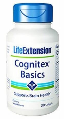 Life Extension Cognitex Basics 30 softgel capsules