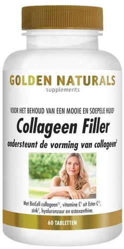 Golden Naturals Collageen Filler 60 tabletten