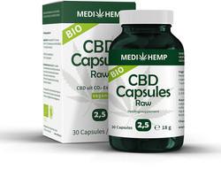 Medihemp CBD Caps 2.5% (12.5 mg) 30 capsules
