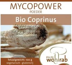 Mycopower Coprinus poeder 100 gram biologisch