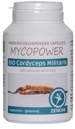 Mycopower Cordyceps Militaris Caps biologisch