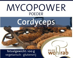 Mycopower Cordyceps sinensis poeder 100 gram