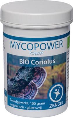 Mycopower Coriolus poeder 100 gram biologisch