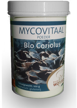 Mycovitaal Coriolus poeder 100 gram biologisch