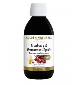 Golden Naturals Cranberry D mannose liquid