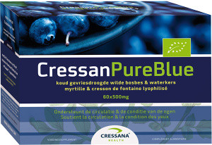 Cressana CressanPureBlue 60 capsules biologisch