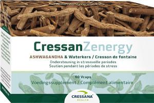 Cressana CressanZengery Ashwagandha 60 capsules biologisch