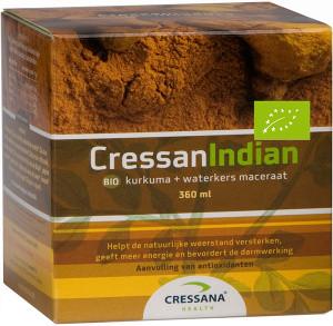 Cressana CressanIndian Kurkuma 360 ml biologisch