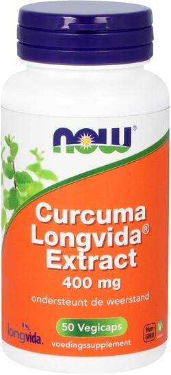 NOW Foods Curcuma Longvida Extract 50 capsules