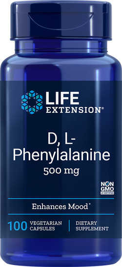 Life Extension D,L-Phenylalanine