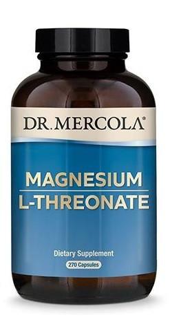 Dr Mercola Magnesium L-Threonaat 270 capsules