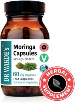 Dr. Wakde Moringa Caps 60 vegetarische capsules