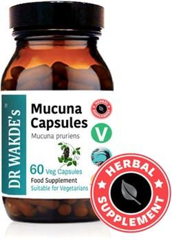 Dr. Wakde Mucuna Caps 60 vegetarische capsules