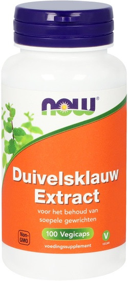 NOW Foods Duivelsklauw Extract 500 mg 100 capsules