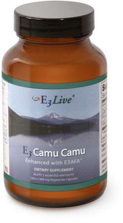 E3Live E3Live camu camu enhanced with E3AFA 120 vegetarische capsules