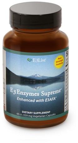 E3Live E3AFA Enzymes Supreme biologisch