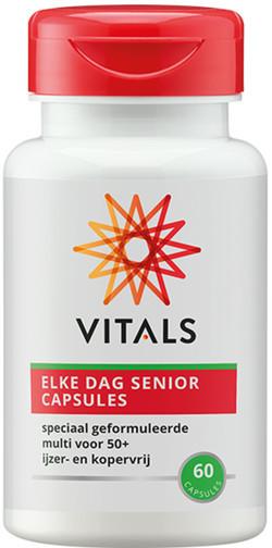 Vitals Elke Dag 50+ Capsules 60 vegetarische capsules