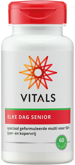 Vitals Elke Dag Senior Tabletten 60 tabletten