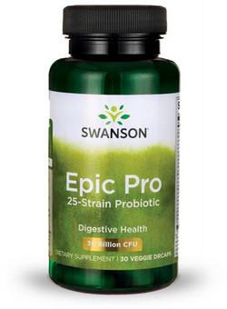 Swanson Epic Pro 25-Strain Probiotic 30 capsules