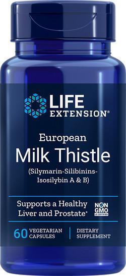 Life Extension European Milk Thistle 60 capsules