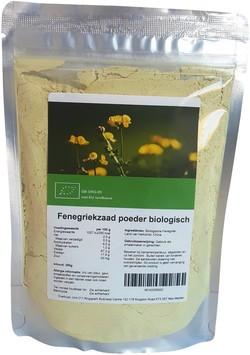 Fenegriekzaad poeder Bio biologisch