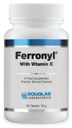 Douglas Laboratories Ferronyl IJzer 60 tabletten
