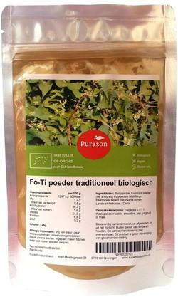 He shou wu (fo-ti) traditioneel biologisch bij Superfoods online