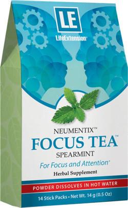 Life Extension Neumentix focus tea 14 zakjes