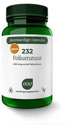 AOV Foliumzuur - 232 60 capsules