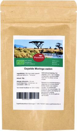 Purason Tanzania gold Moringa zaden gepeld 50 gram