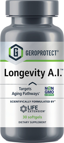 Life Extension Geroprotect® Longevity A.I 30 softgel capsules
