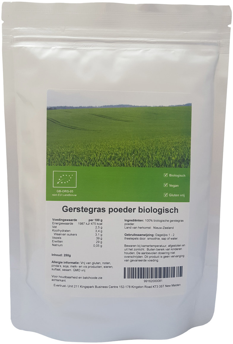 Gerstegras - Nieuw-Zeeland biologisch